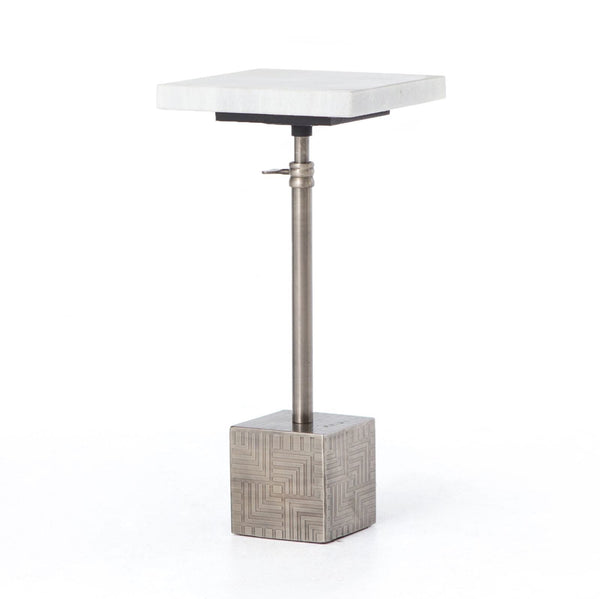 Four Hands Sirius Adjustable Accent Table - Available in 3 Colors | Alchemy Fine Home