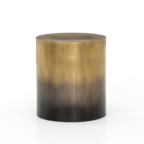 Four Hands Cameron Ombre End Table - Ombre Antique Brass | Alchemy Fine Home