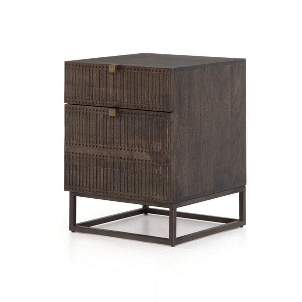 Four Hands Kelby Filing Cabinet - Brown | Alchemy Fine Home