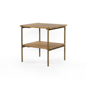 Four Hands Carlisle End Table - Brown | Alchemy Fine Home