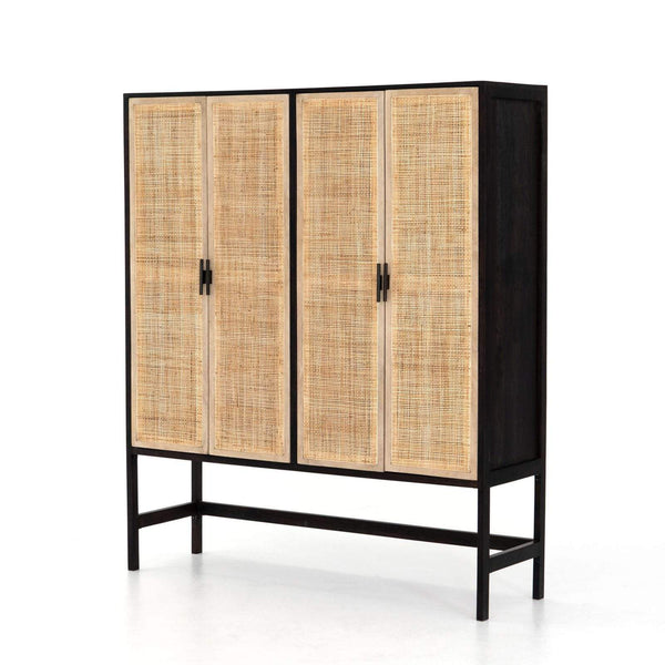 Four Hands Caprice Cabinet Black | Alchemy Fine Home