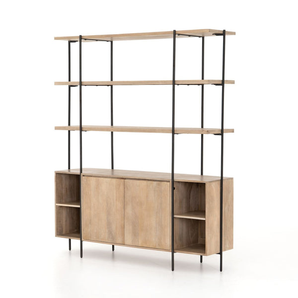 Four Hands Elena Sideboard And Hutch - Brown | Alchemy Fine Home