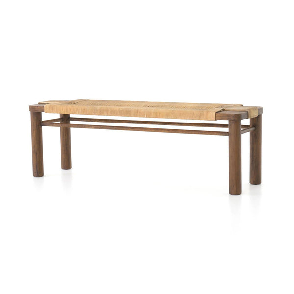 Four Hands Shona Bench - Available in 2 Colors | Alchemy Fine Home