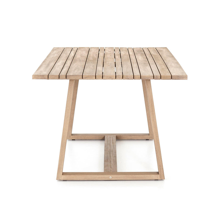 Four Hands Atherton Outdoor Dining Table - Available in 2 Colors | Alchemy Fine Home