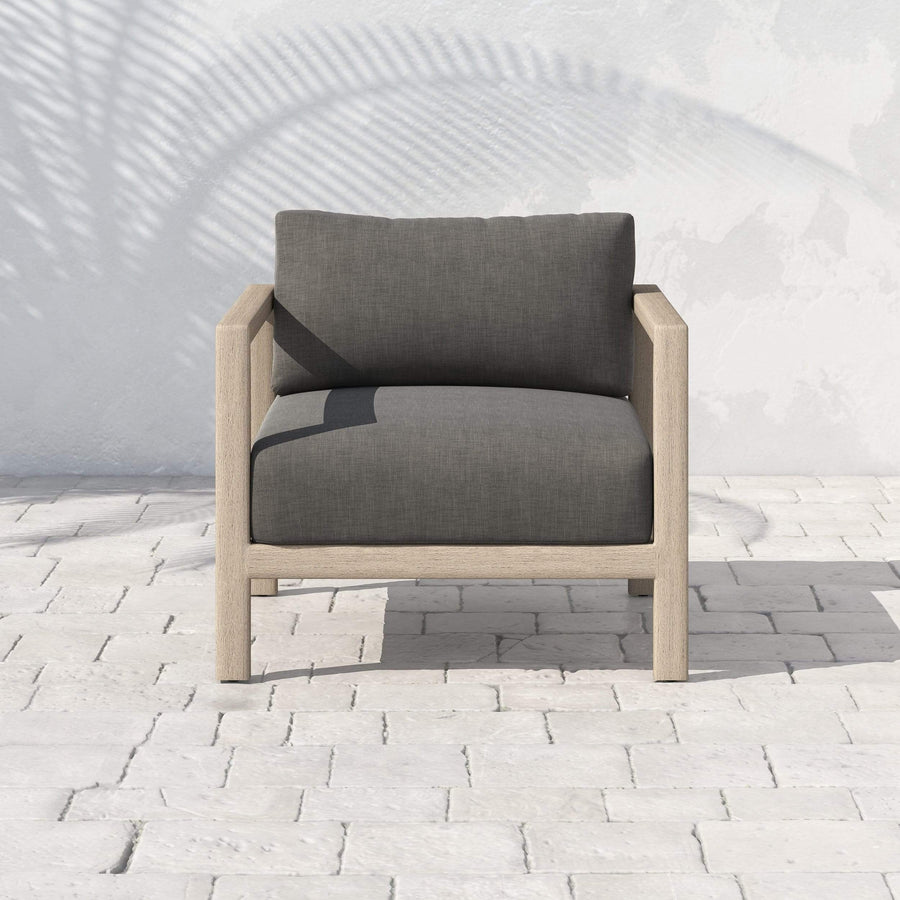Four Hands Sonoma Outdoor Chair - Washed Brown - Available in 5 Colors | Alchemy Fine Home