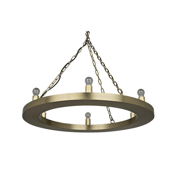 Noir Ciro Gold Chandelier