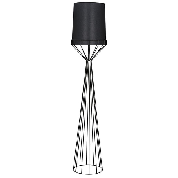 Noir Portal Black Floor Lamp A