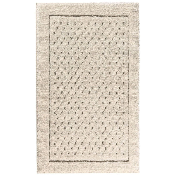 Graccioza Linen Waffle Bath Rug - Available in 2 colors | Alchemy Fine Home