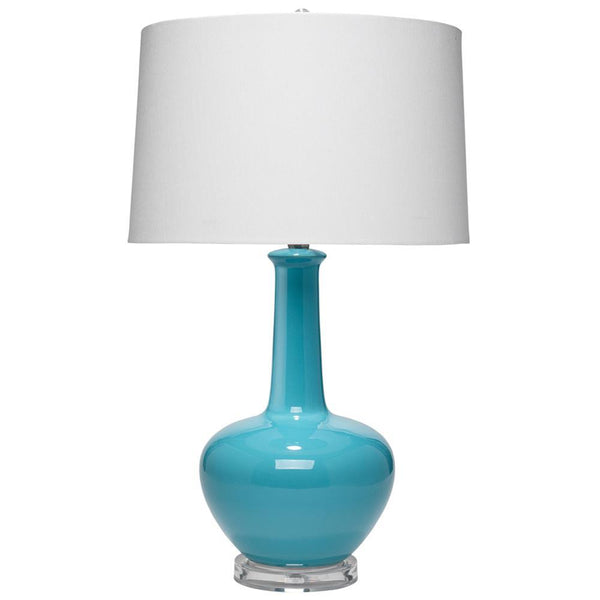 Jamie Young Gwen Blue Table Lamp