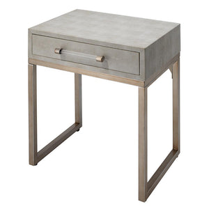 Jamie Young Kain Beige Side Table