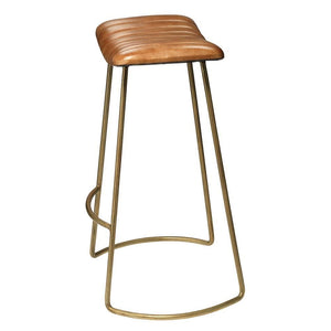 Jamie Young Luke Beige Bar Stool