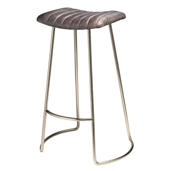 Jamie Young Luke Gray Bar Stool