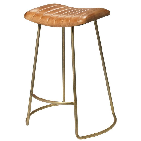 Jamie Young Theo Beige Counter Stool