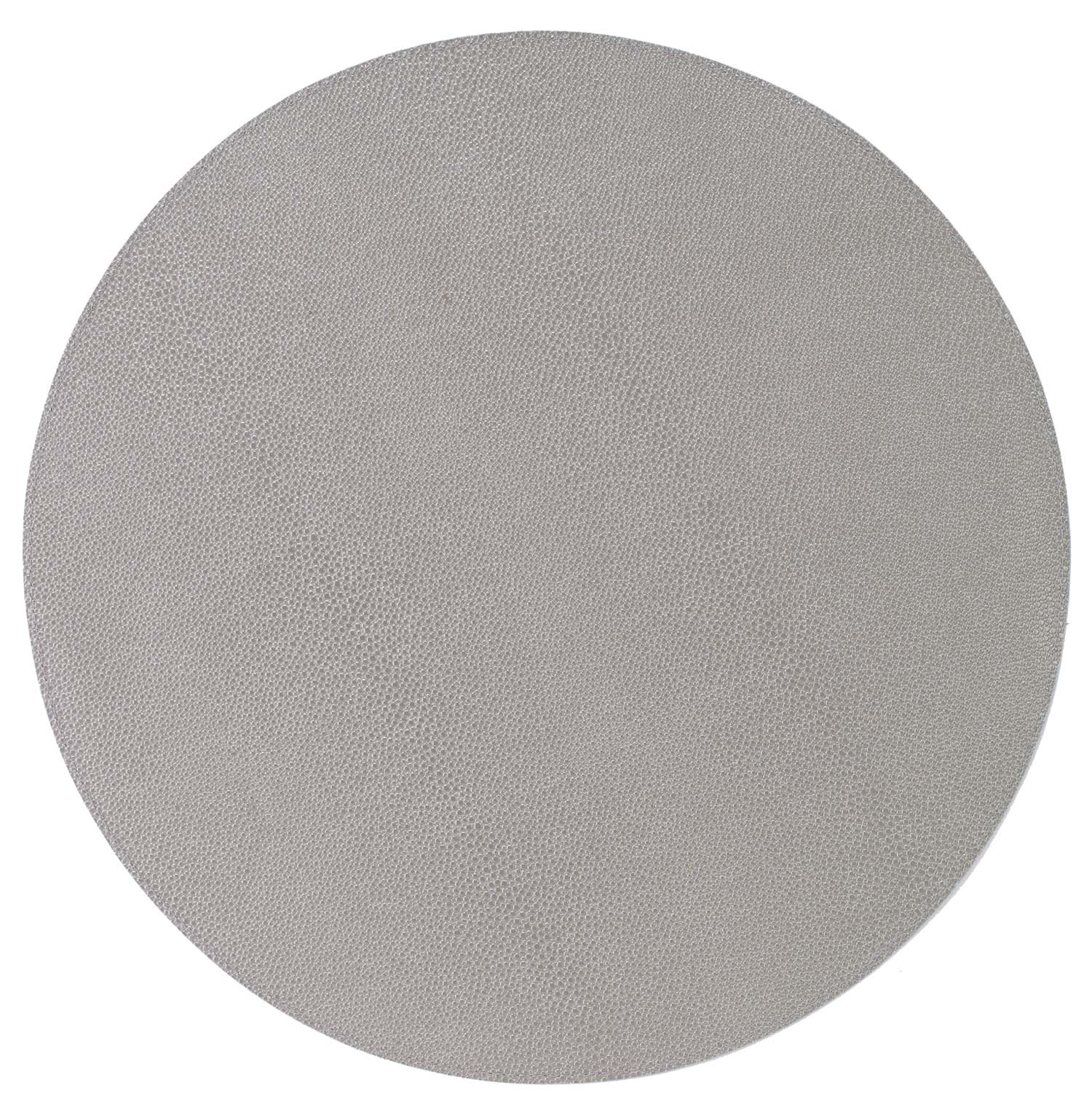 Bodrum Bodrum Skate Round Placemat - Gray - Set of 4 LTM4100P4