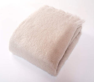Harlow Henry Harlow Henry Luxe Mohair Throw - 6 Available Colors Cloud HHVCT01