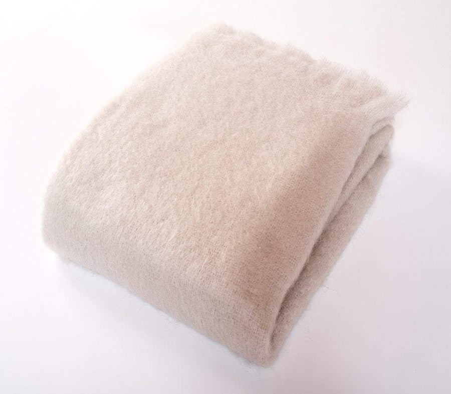 Harlow Henry Luxe Mohair Throw - 6 Available Colors