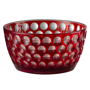 Mario Luca Giusti Mario Luca Giusti Lente Salad Bowl - Available in 5 Colors Red M1030233