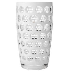 Mario Luca Giusti Mario Luca Giusti Lente Acrylic Large Water Glasses - Available in 10 Colors Large / White M1031112