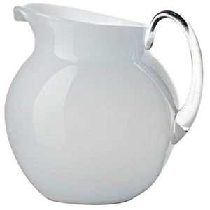 Mario Luca Giusti Mario Luca Giusti Acrylic Palla Pitcher - Available in 16 Colors Opaque White M1101120