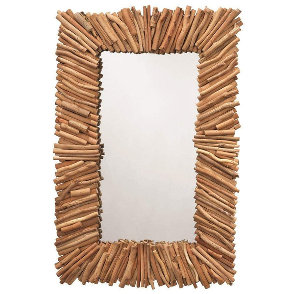 Jamie Young Driftwood Rectangle Mirror