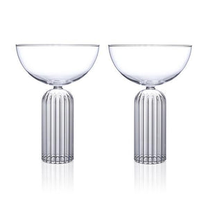 Fferrone May Champagne Coupe - Set Of 2