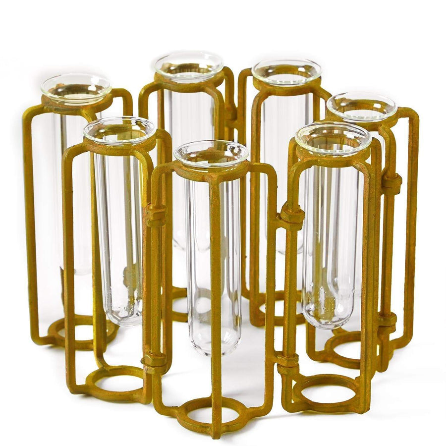 Tozai Home Sm Hinged Flower Vases | Alchemy Fine Home