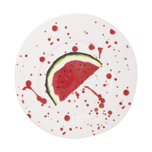 Vietri Vietri Melamine Fruit Watermelon Dinner Plate MLFR-2300B