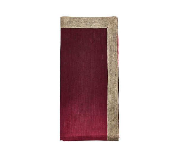 Kim Seybert Dip Dye Napkin Berry & Plum - Set Of 4