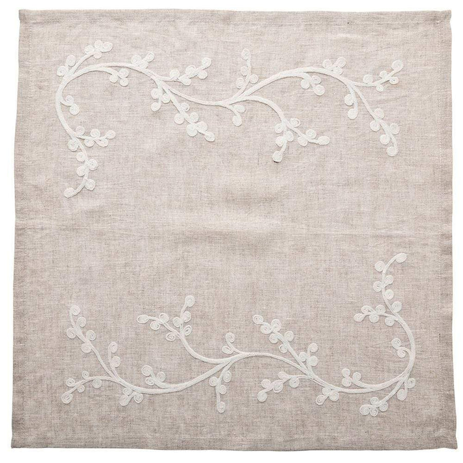 Kim Seybert Sakura Napkin in Natural and Ivory - Set of 4 NA2191982NTIV