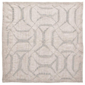 Kim Seybert Kim Seybert Variegated Napkin in Natural and Grey - Set of 4 NA2191985NTGRY