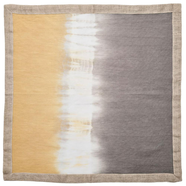 Kim Seybert Solstice Napkin in Grey and Beige - Set of 4 NA2192031GRYBG