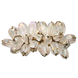 Kim Seybert Kim Seybert Glow Napkin Ring in Iridescent - Set of 4 NR1201038IRD
