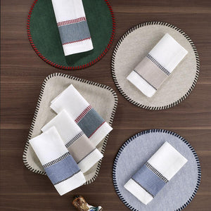 Bodrum Bodrum Nashville Napkin - Forest - Set of 4 NAS0810P