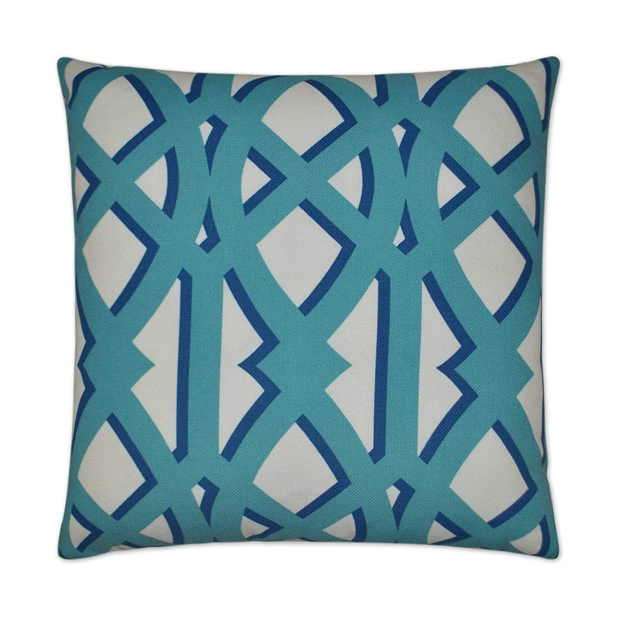 D.V. Kap D.V. Kap Elton Outdoor Pillow - Blue Turquoise OD-113-T