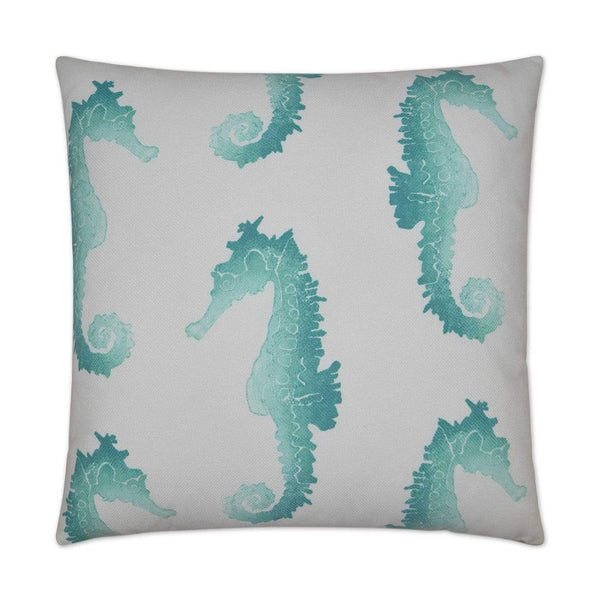D.V. Kap Seahorse Outdoor Pillow | Alchemy Fine Home