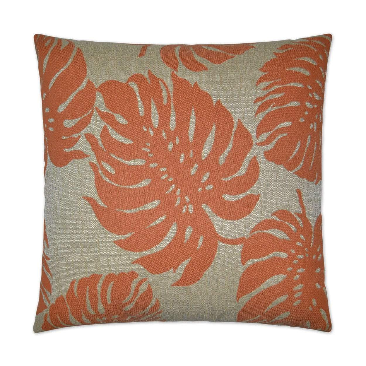 D.V. Kap D.V. Kap Bay Palm Outdoor Pillow Orange OD-135-O