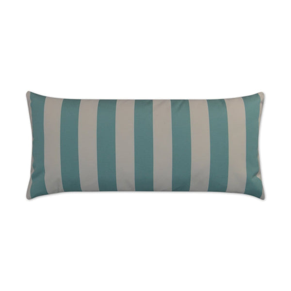 D.V. Kap Café Stripe Lumbar Outdoor Pillow - Available in 4 Colors | Alchemy Fine Home