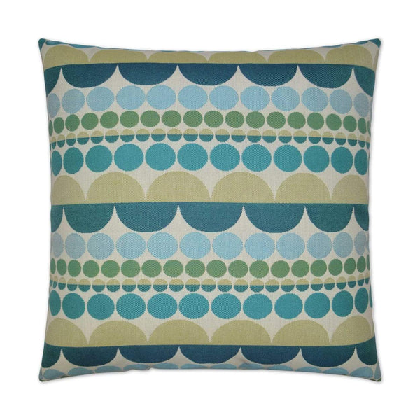 D.V. Kap Mardi Gras Outdoor Pillow | Alchemy Fine Home