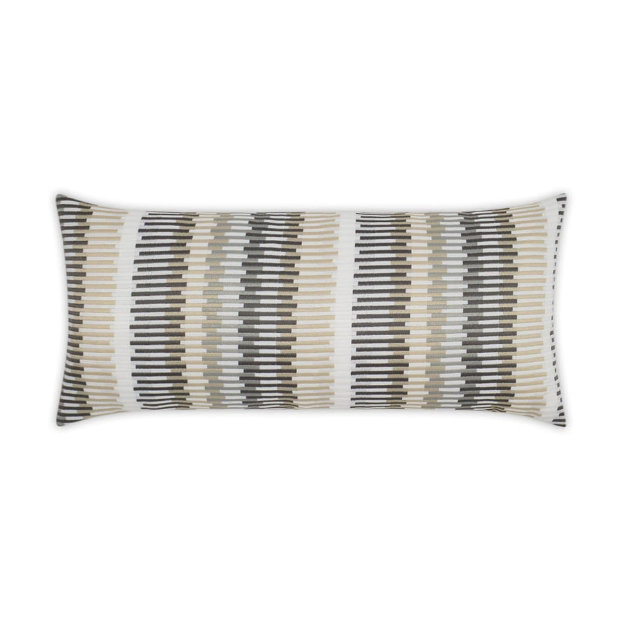 D.V. Kap Sunfun Stripe Lumbar Outdoor Pillow - Available in 2 Colors | Alchemy Fine Home