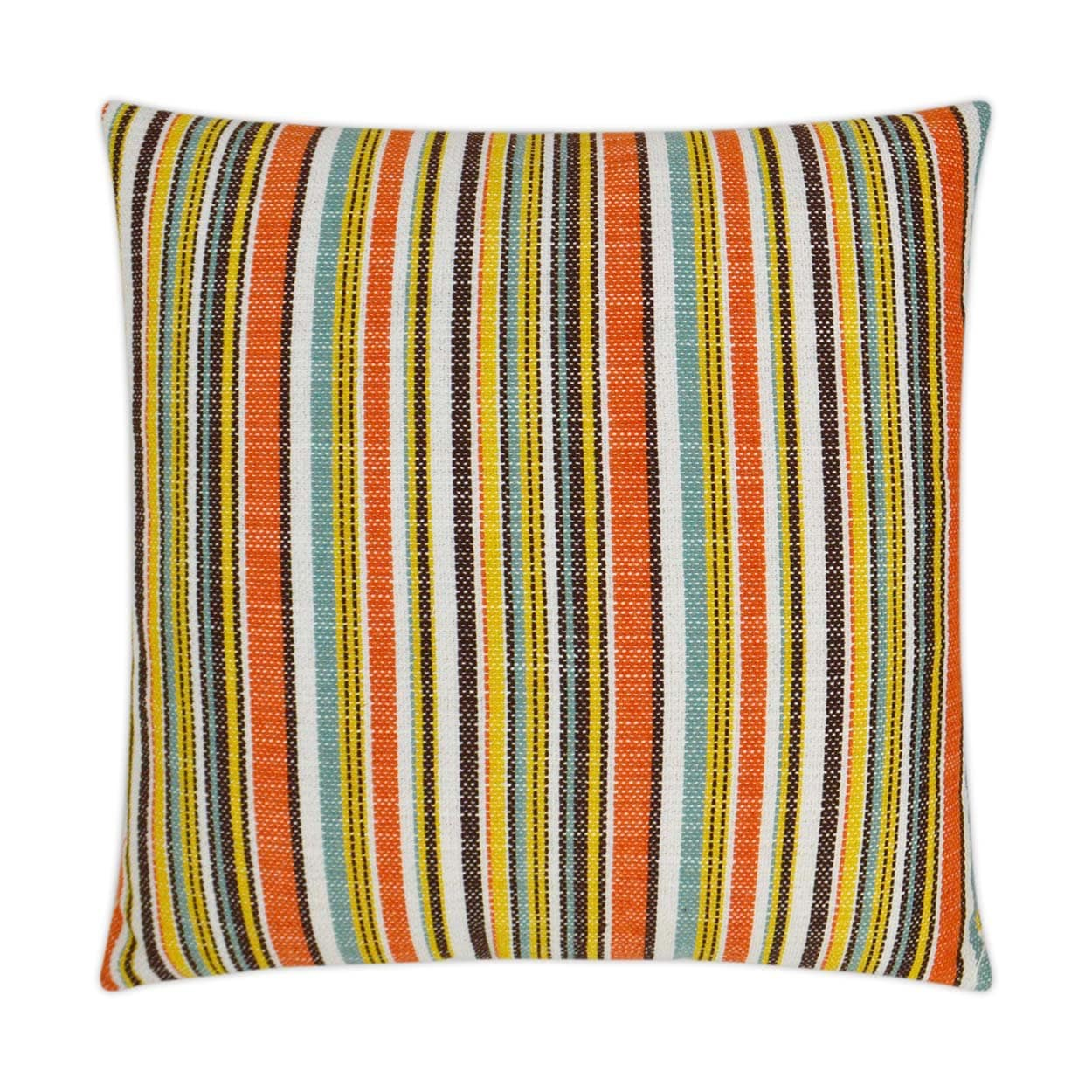D.V. Kap D.V. Kap Fancy Stripe Outdoor Pillow - Available in 2 Colors Navy OD-303-N