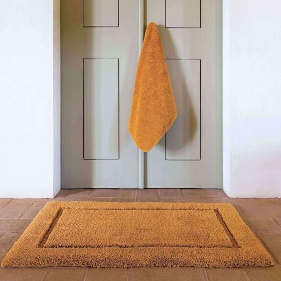 Graccioza Opulent Silk Bath Rug - Available in 2 colors | Alchemy Fine Home