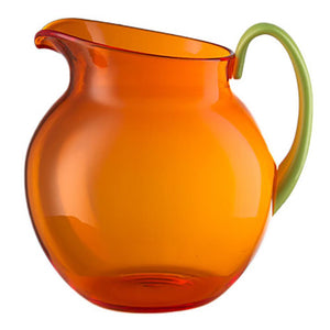 Mario Luca Giusti Mario Luca Giusti Acrylic Palla Pitcher - Available in 16 Colors Orange & Green M1100420G