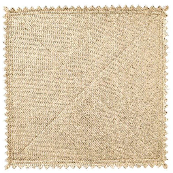 Kim Seybert Kim Seybert Stamped Placemat in Gold and Silver - Set of 4 PM1180767GDSLV