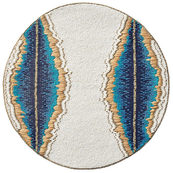 Bali Placemat in Multi - Set of 2 by Kim Seybert | Alchemy Fine Home