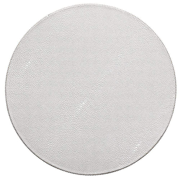 Kim Seybert Pebble Placemat in Silver - Set of 4