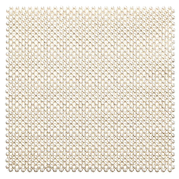 Kim Seybert Pearl Placemat in Ivory - Set of 4