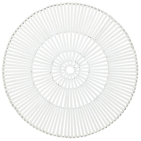 Spoke Placemat in White - Set of 4 by Kim Seybert | Alchemy Fine Home