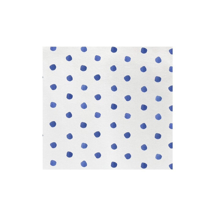 Vietri Vietri Papersoft Dot Dinner Napkins - Available in 8 colors Blue / Pack of 50 PPS-6050B