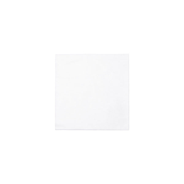Vietri Vietri Papersoft Cocktail Napkins - Bianco Solid Bianco Solid / Pack of 20 PPS-W6051