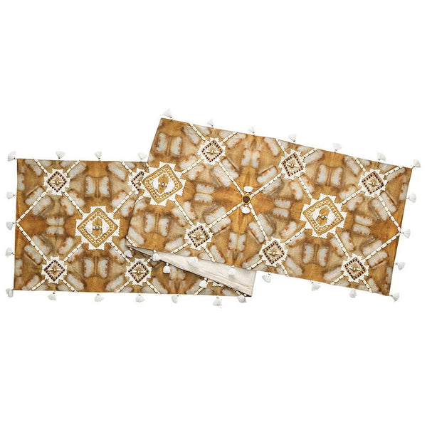 Mali Table Runner in Multi by Kim Seybert | Alchemy Fine Home